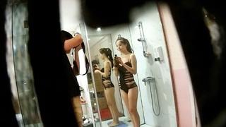 小模代言沐浴乳廣告拍攝 卻遭無良攝影組偷拍流傳完整版 2
