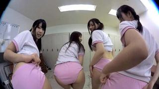 日本VR成人 幫女同學們檢查身體