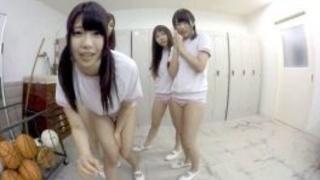 日本VR成人 在學校更衣室偷看女同學們換衣服