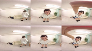 Japanese cutie in 360° 3D VR