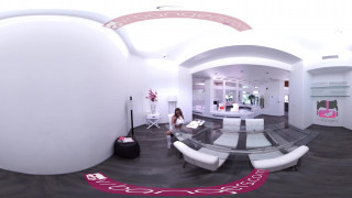 Bangers - [360° VR] Sexy Pristine Edge touching her Pussy while studying