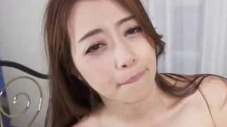 [無碼內射!]美麗巨乳人妻就是希望多點精液在身體裡溫存著~