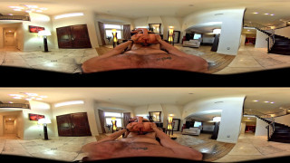 Nikki Benz rides big dick in POV 360 Virtual Reality experience