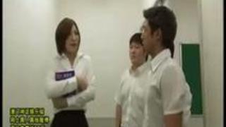【夏希みなみ】新米パンスト女教師の恥辱なる性教育授業【RedTube】