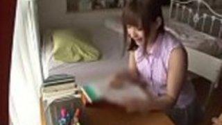 日本人の家庭教師が恥ずかしがり屋をする - もっとElitejavhd.comで