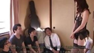 字幕付き日本のAVスター椿加藤飲精パーティー