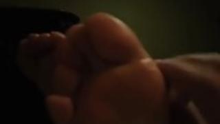 中国人足と手コキ