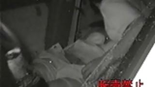 赤外線カメラ盗撮カーセックスシュート