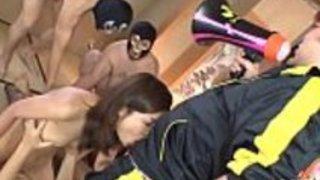 魅力的な日本のグループセックス