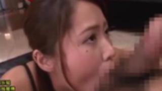 【通野未帆】ねっとりフェラでタマまでしゃぶるスケベ巨乳美人!